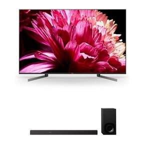 """XBR55X950G 55"""" BRAVIA 4K Ultra HD HDR Smart TV and HT-Z9F 3.1-Channel Dolby Atmos Sound Bar with Subwoofer"""