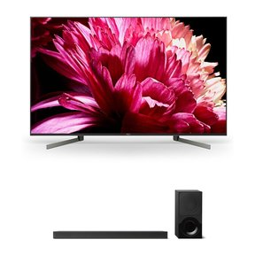 """XBR65X950G 65"""" BRAVIA 4K Ultra HD HDR Smart TV and HT-X9000F 2.1-Channel Dolby Atmos Sound Bar with Subwoofer"""