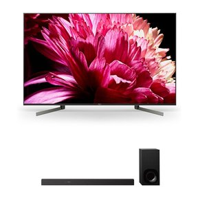 """XBR65X950G 65"""" BRAVIA 4K Ultra HD HDR Smart TV and HT-Z9F 3.1-Channel Dolby Atmos Sound Bar with Subwoofer"""