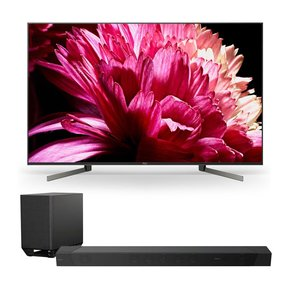 """XBR75X950G 75"""" BRAVIA 4K Ultra HD HDR Smart TV with HT-ST5000 7.1.2ch 800W Dolby Atmos Sound Bar"""