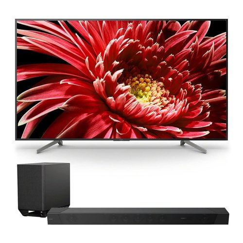 "View Larger Image of XBR85X850G 85"" BRAVIA 4K Ultra HD HDR TV with HT-ST5000 7.1.2ch 800W Dolby Atmos Sound Bar"