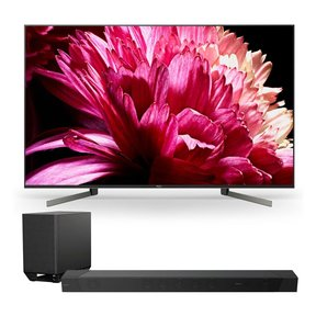 """XBR85X950G 85"""" BRAVIA 4K Ultra HD HDR Smart TV with HT-ST5000 7.1.2ch 800W Dolby Atmos Sound Bar"""