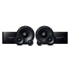 """XS-GS1631C GS-Series 6.5"""" 3-Way Component Speakers"""