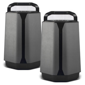 VG7 Portable Outdoor Full-Range Loudspeaker System with Subwoofer - Pair
