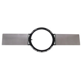 6 Inch Round Series New Construction Bracket (White)