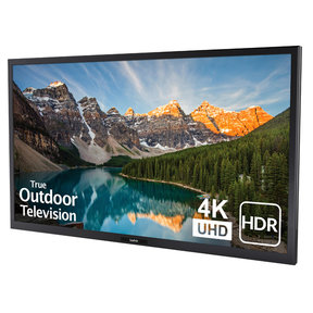 "SB-V-55-4KHDR 55"" 4K UHD Veranda Outdoor LED HDR TV for Full Shade (Black)"