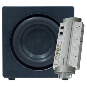 """XTEQ 12"""" High Performance Subwoofer with FREE Panamax PM8-AV Power Management System"""