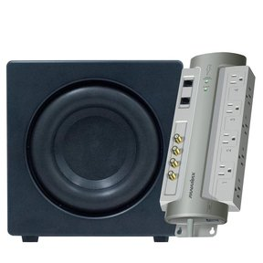"XTEQ 8"" High Performance Subwoofer with FREE Panamax PM8-AV Power Management System"