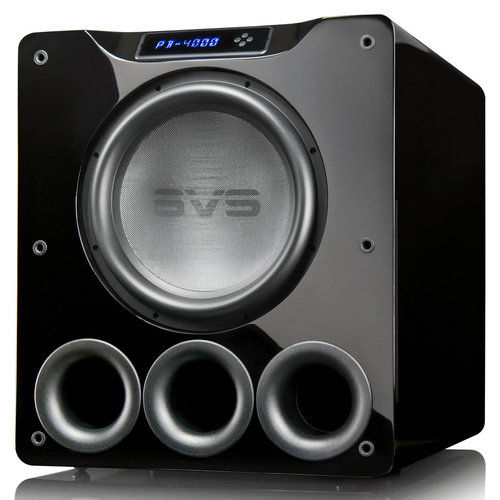 """View Larger Image of PB-4000 13.5"""" 1200W Ported Box Subwoofers - Pair (Piano Gloss Black)"""