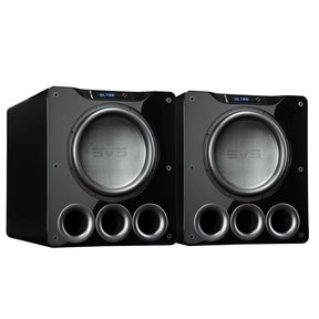 "PB16-Ultra 1500 Watt 16"" Ported Cabinet Subwoofers - Pair (Piano Gloss Black)"