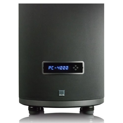 """View Larger Image of PC-4000 13.5"""" 1200W Cylinder Subwoofer (Piano Gloss Black)"""