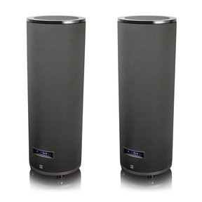 "PC-4000 13.5"" 1200W Cylinder Subwoofers - Pair (Piano Gloss Black)"