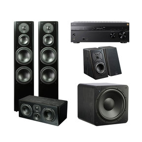 Prime 5.1 Home Theater System with Sony STR-DN1080 7.2-Channel AV Receiver