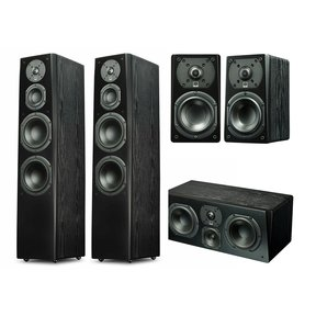 Prime Tower 5.0 Surround System (Black Ash)