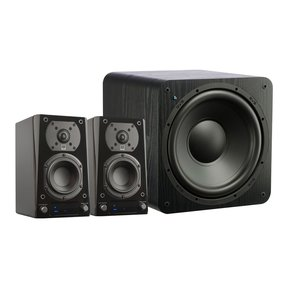 Prime Wireless 2.1 Speaker System (Black Ash)