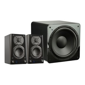 Prime Wireless 2.1 Speaker System (Piano Black Gloss)