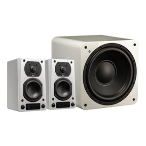 Prime Wireless 2.1 Speaker System (White)