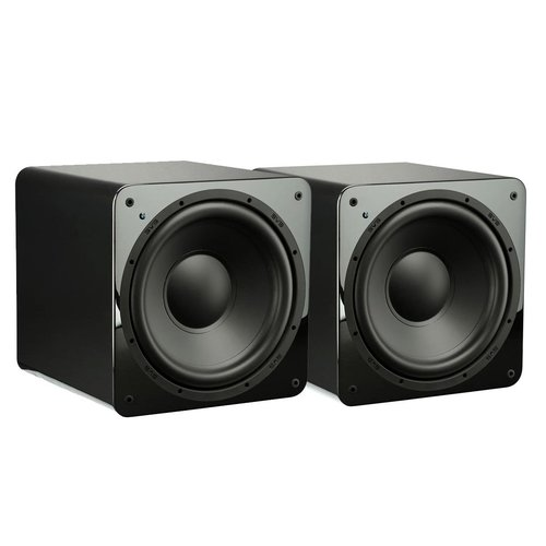 """View Larger Image of SB-1000 300 Watt DSP Controlled 12"""" Ultra Compact Sealed Subwoofers - Pair (Piano Gloss Black)"""
