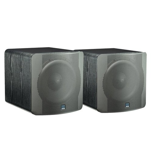 """View Larger Image of SB-2000 500 Watt DSP Controlled 12"""" Compact Sealed Subwoofers - Pair (Premium Black Ash)"""