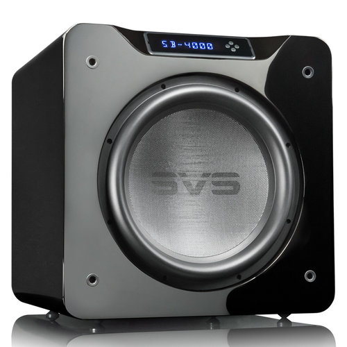 """View Larger Image of SB-4000 13.5"""" 1200W Sealed Box Subwoofers - Pair (Piano Gloss Black)"""