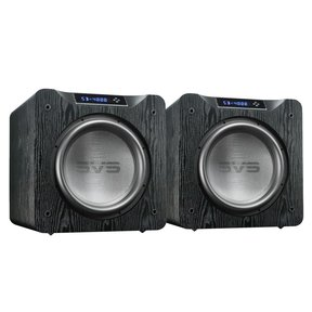 "SB-4000 13.5"" 1200W Sealed Box Subwoofers - Pair (Premium Black Ash)"