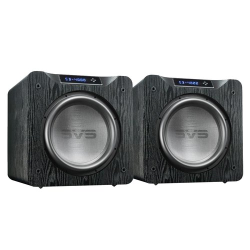 "View Larger Image of SB-4000 13.5"" 1200W Sealed Box Subwoofers - Pair (Premium Black Ash)"