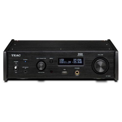 View Larger Image of NT-503 Dual-Monaural USB DAC/Network Player (Black)