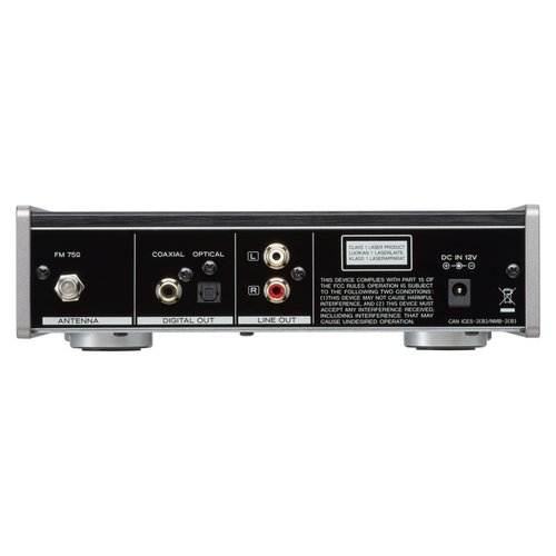 View Larger Image of PD-301 High Quality CD Player With Built-In FM Tuner (Black)