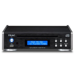 PD-301 High Quality CD Player With Built-In FM Tuner (Black)