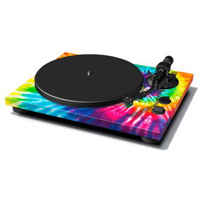 TN-420 Belt-Driven Turntable with S-Shaped Tonearm and USB Output (Tie-Dye)