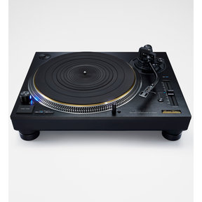 SL-1210GAE Limited Edition Black Twin Rotor Coreless Turntable