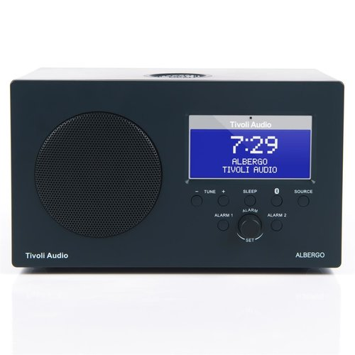 View Larger Image of Albergo Clock Radio With Bluetooth