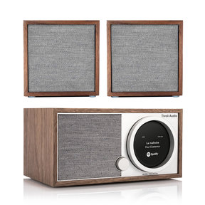 Model One Digital FM/Wi-Fi/Bluetooth Radio Wireless Stereo Music System with CUBE Speakers - Pair