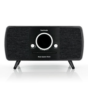 Music System Home All-In-One Music System with Amazon Alexa Voice Assistance (Black)