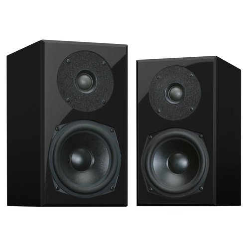 "View Larger Image of MITE High Fidelity Bookshelf Speakers with 5.5"" Driver - Pair (Dusk Black)"