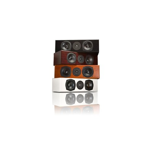 """View Larger Image of Mite-T Center Channel Speaker with Dual 5 1/2"""" Drivers - Each (Mahogany)"""
