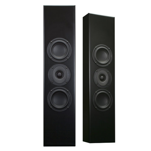 View Larger Image of Tribe I On-Wall Speaker - Each (Satin Black)