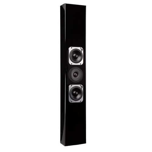 View Larger Image of Tribe III On-Wall High Fidelity Speaker - Each (Satin Black)