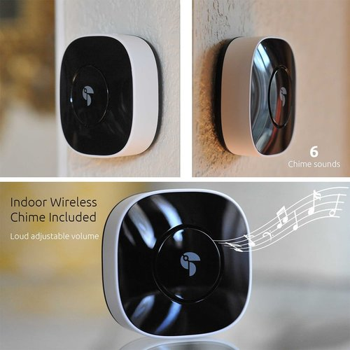 View Larger Image of TVD100WUTG Wireless Video Doorbell Camera