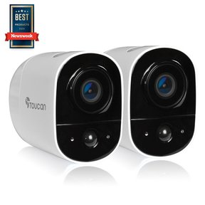 TWCK200WUTG-2 Wireless Outdoor Security Camera 2 Pack (White)