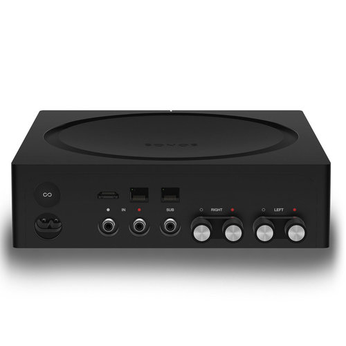 View Larger Image of Orbit Plus Turntable with Built-In Preamplifier (Black) with Sonos AMP Wireless Hi-Fi Player