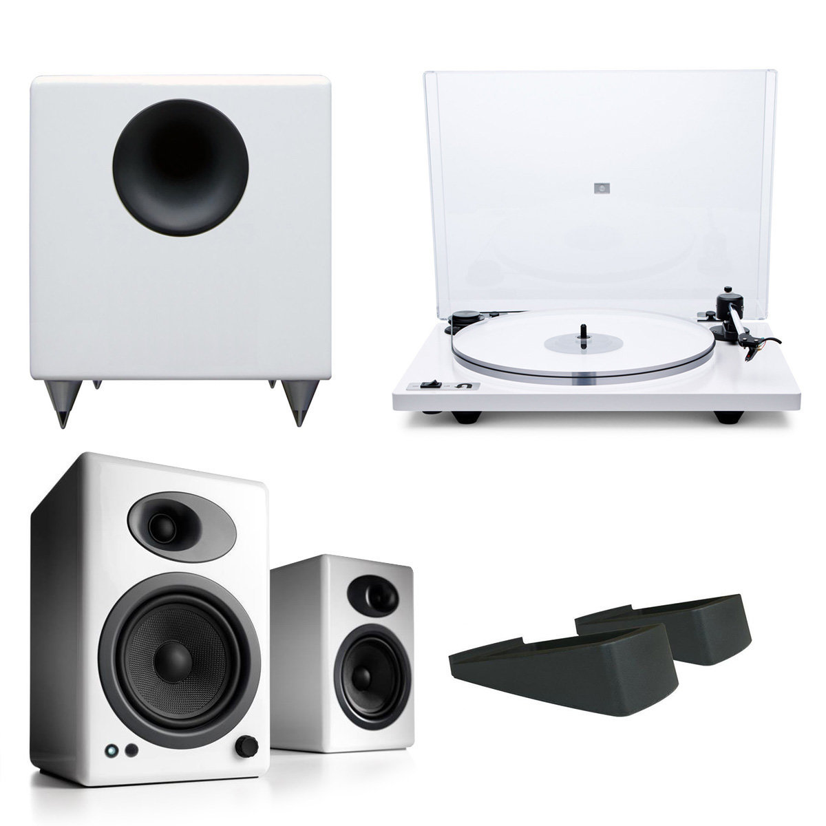 U Turn Audio Orbit Plus Turntable With Built In Preamplifier White
