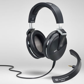 Performance 840 FOCUSED BASS Over-Ear Headphones with Mic and Remote and Sirius Bluetooth Adapter
