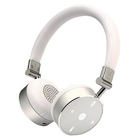 BT Quality Bluetooth Wireless On-Ear Headphones (White)