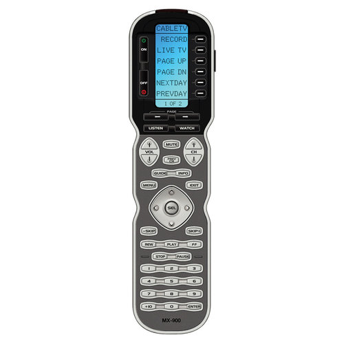"View Larger Image of MX900 ""Genesis"" IR/RF Universal Remote Control"