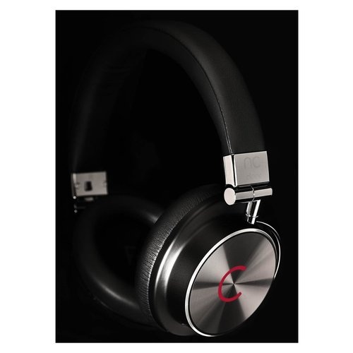 View Larger Image of NC Hybrid Quality Noise-Canceling Over-Ear Headphones (Black)