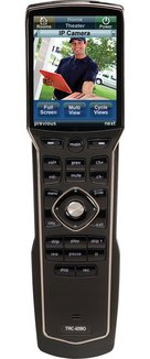 View Larger Image of TRC-1280 Wand-Style Color Touchscreen Wi-Fi Handheld Remote