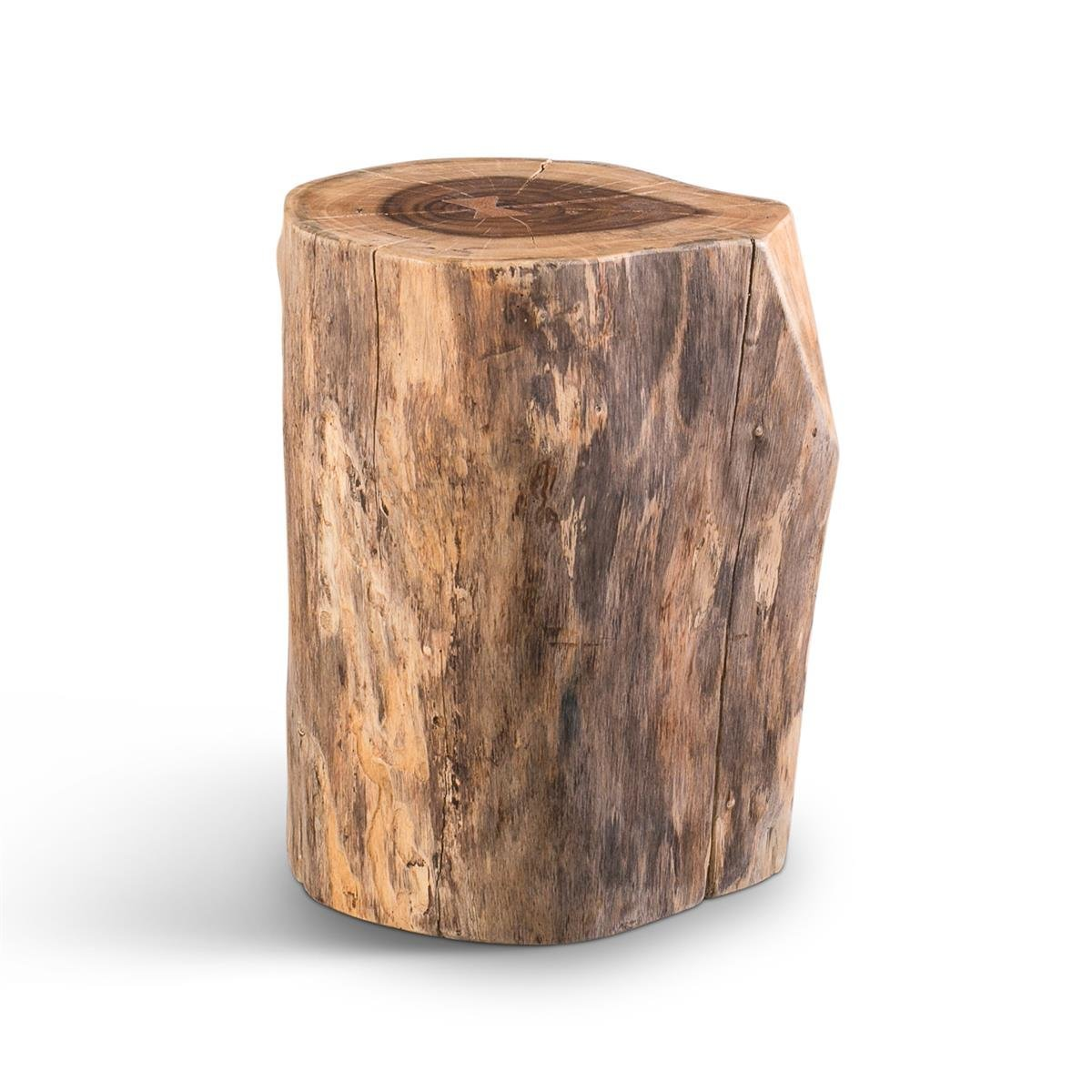 View Larger Image of Stump Stool/End Table (Natural)