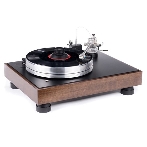 View Larger Image of Classic High-End Turntable (Walnut)