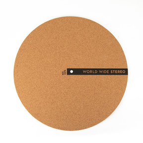 "12"" Cork Turntable Slipmat - 2019 Edition"